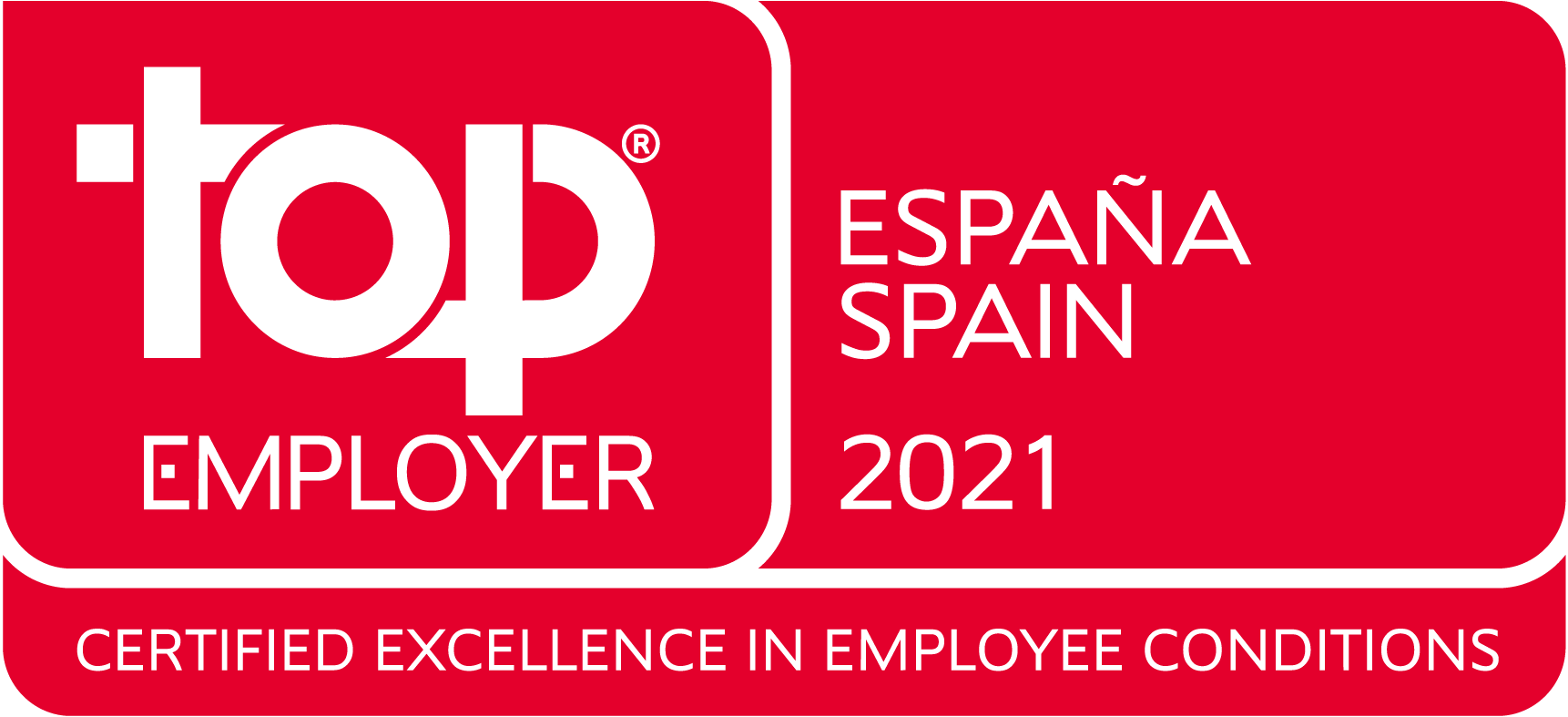Top Employer Spain 2021
