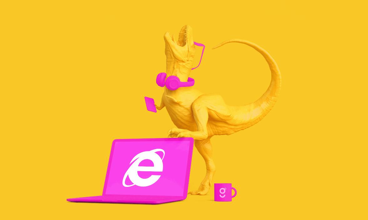 Bye Bye Internet Explore 2X