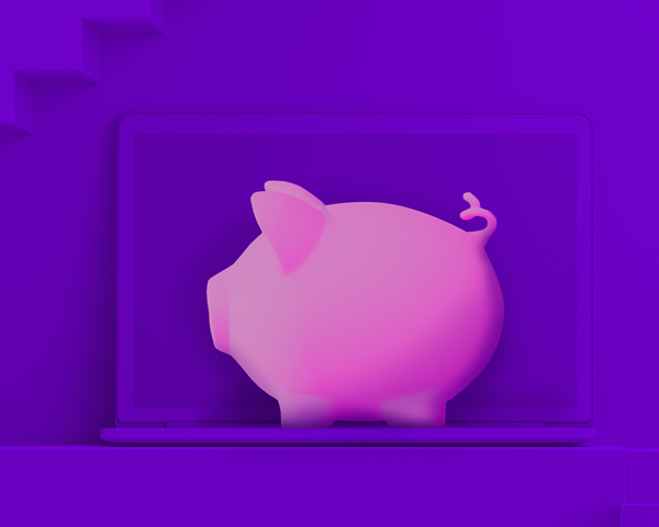 Price pig purple