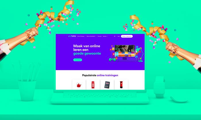 BE GoodHabitz new website