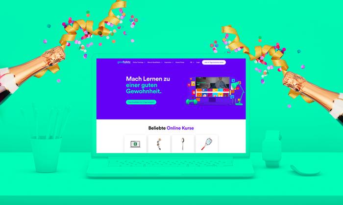 DE GoodHabitz new website