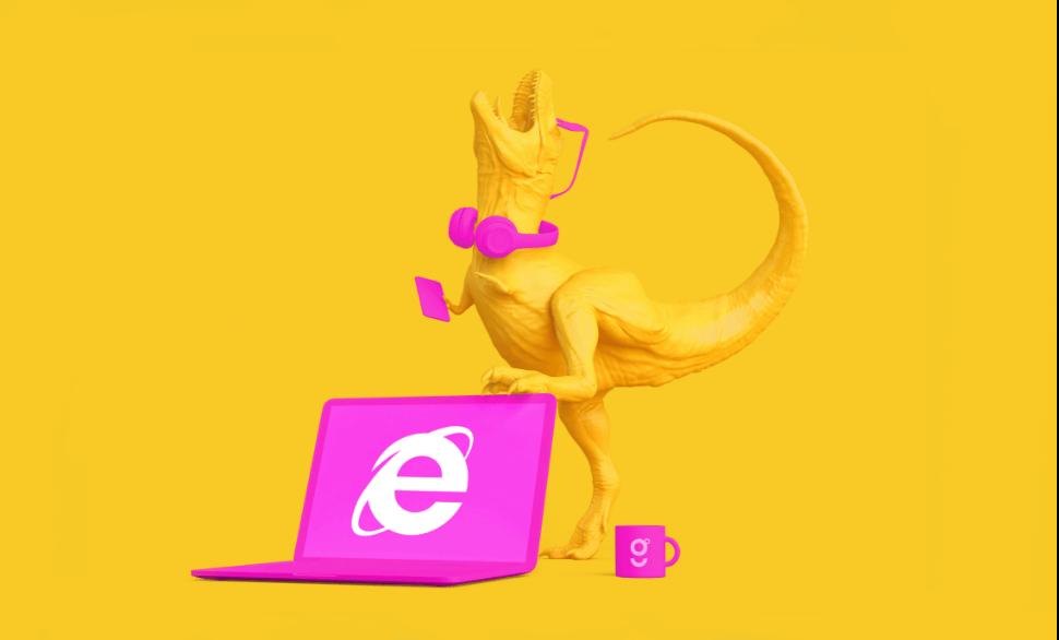 Bye Bye Internet Explore – TILE SIZE@2X