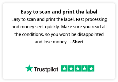 Easy to scan and print the label