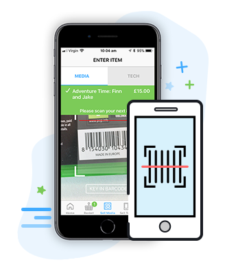 SCAN YOUR ITEMS!