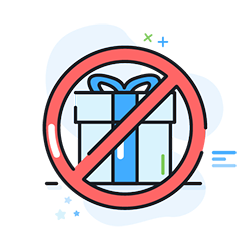 Don't give gifts