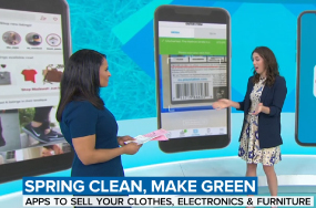 Spring cleaning: Apps to sell your clothes, tech, furniture