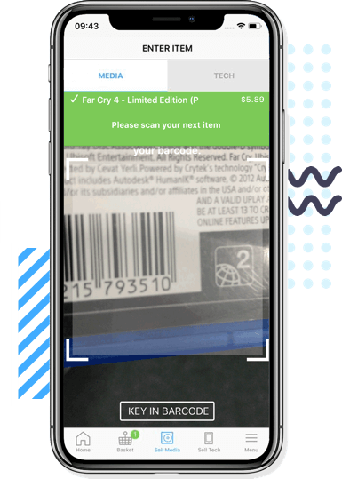 Scan your stuff instantly!