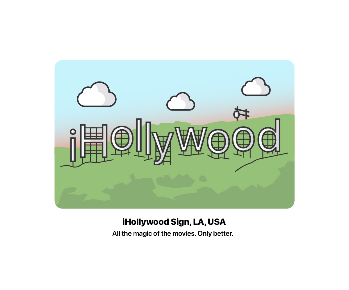 iHollywood Sign