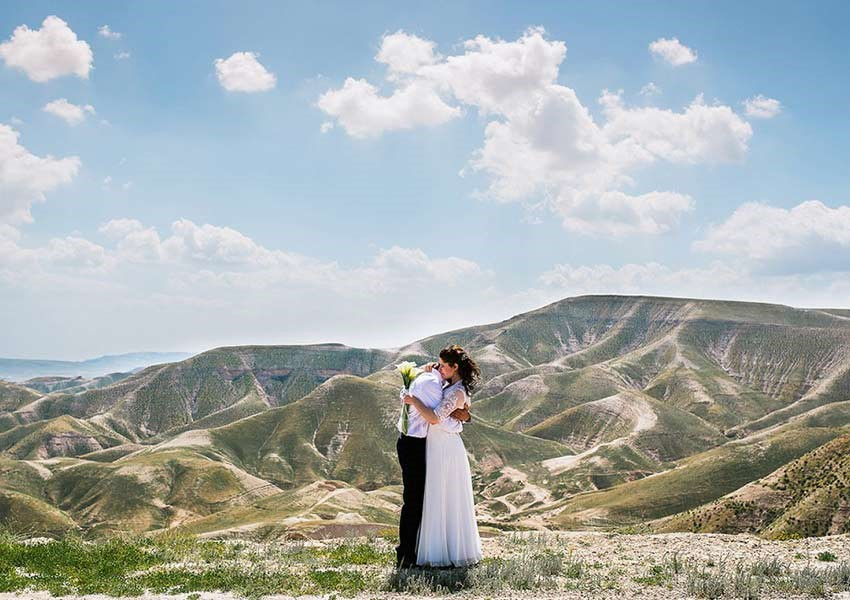Wedding photography in the countryside