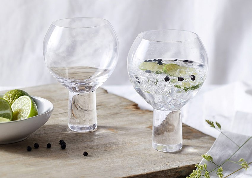 The White Company cocktail glasses