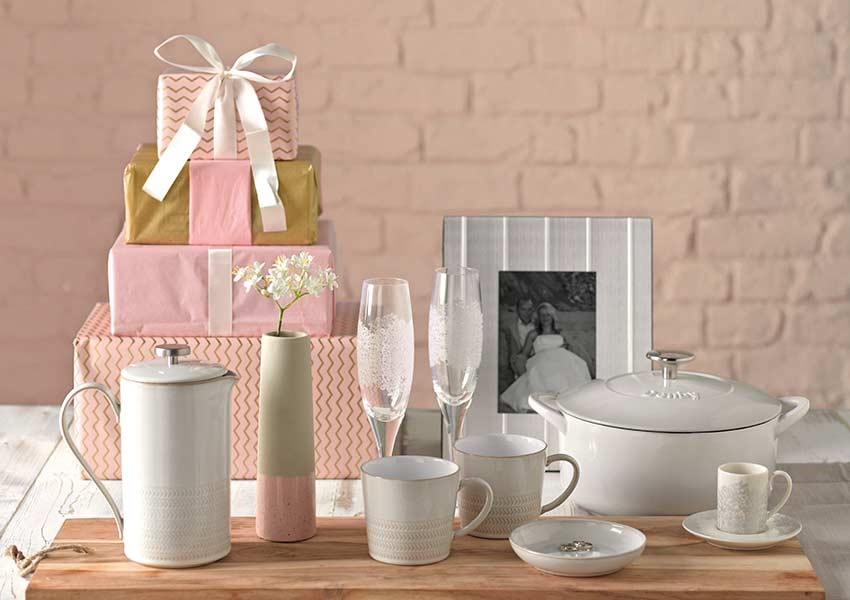 Beautiful selection of Denby wedding gifts