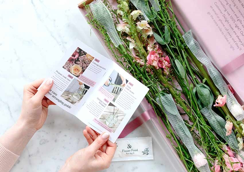 Bloom and wild wedding gift subscription