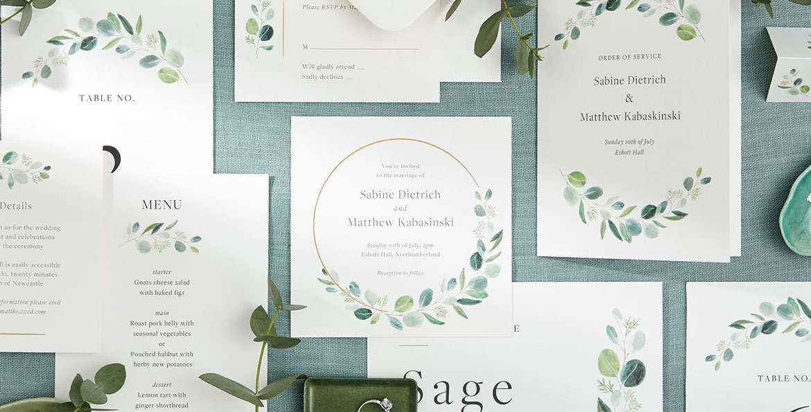 papier wedding stationery