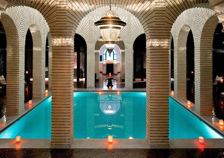 Trip to Marrakech with a gorgeous pool