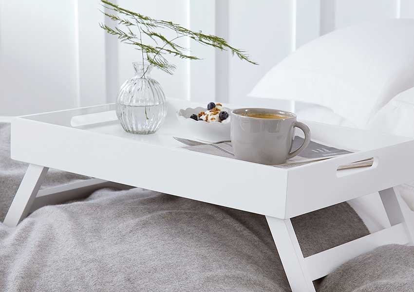 The White Company Breakfast in bed tray