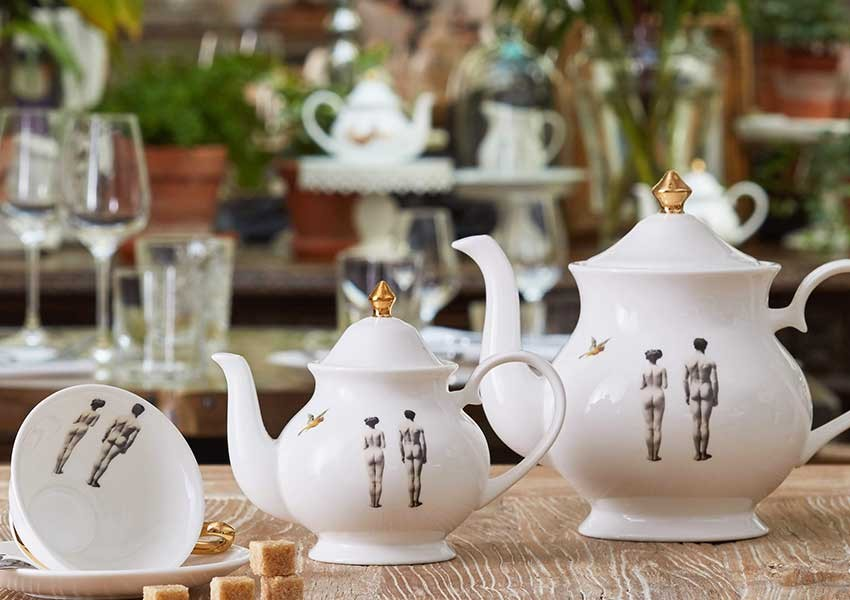Nude Melody Rose Teapot