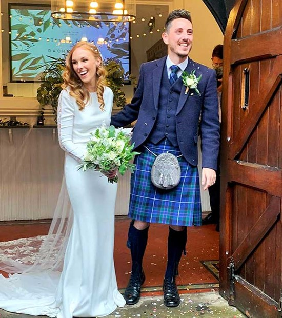 glasgow wedding kilt
