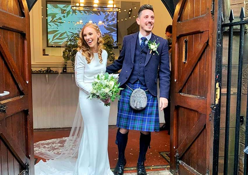 beautiful Scottish wedding
