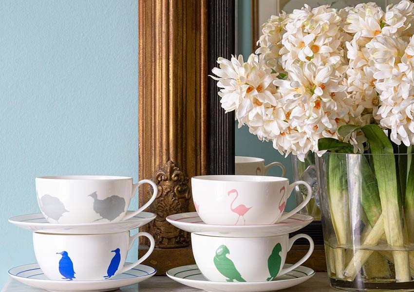 Alice Peto cups and saucers - Wedding present inspiration