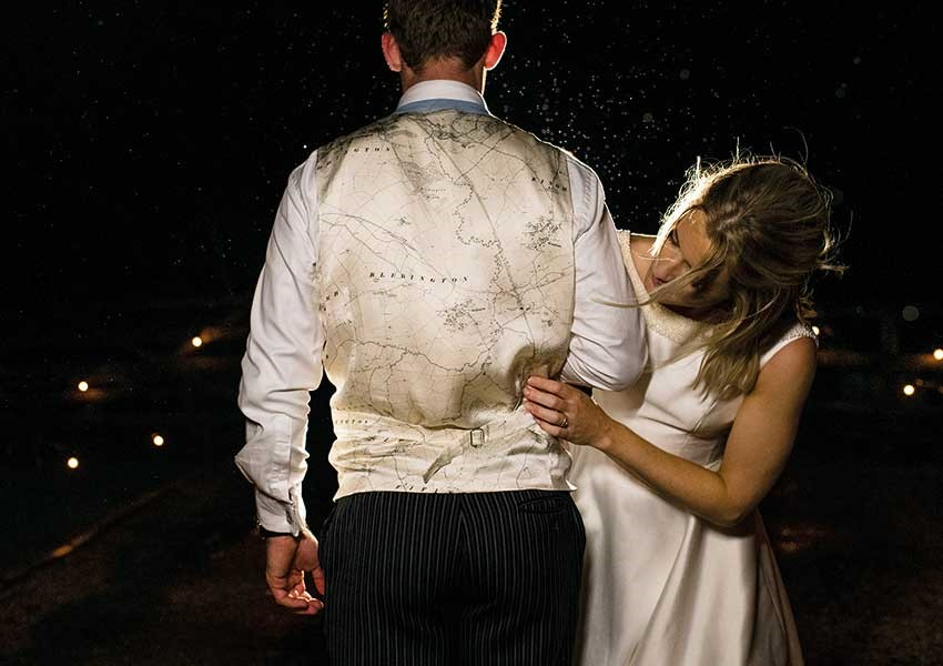 personal and unique wedding