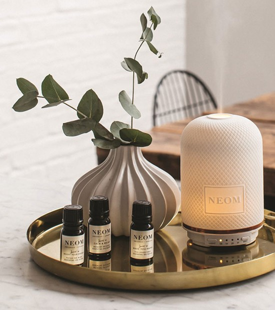 Calming wedding gifts  neom diffuser