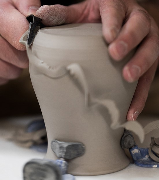 pottery throwing and carving - meet the maker
