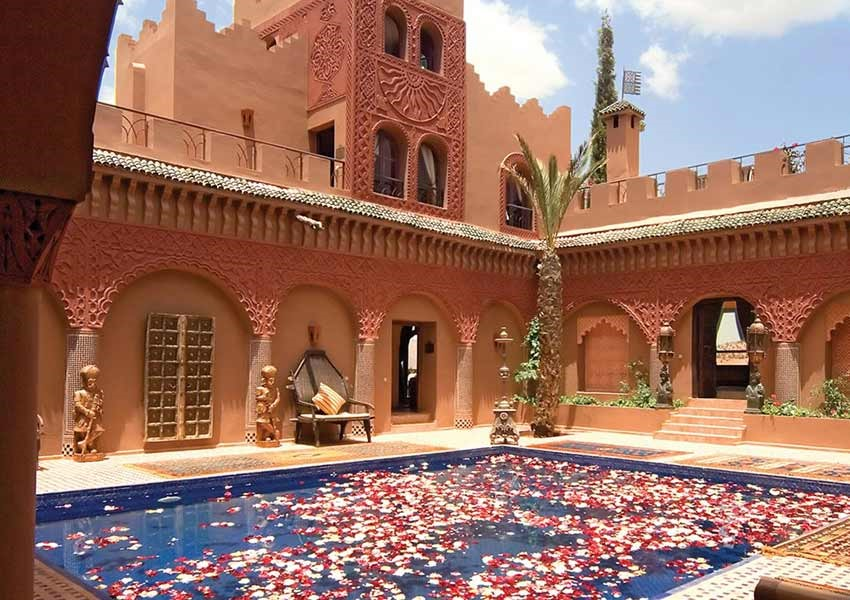 ONE NIGHT AT THE KASBAH TAMADOT FOR TWO