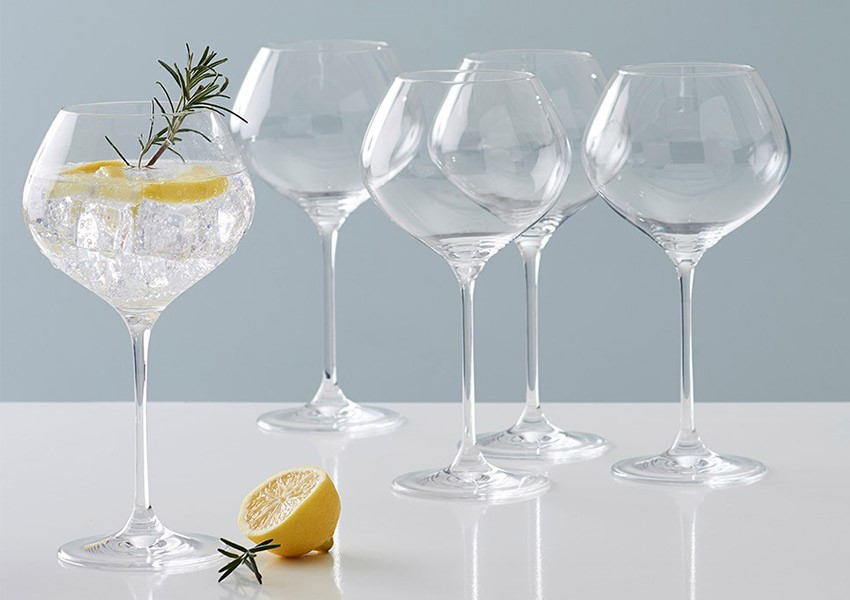 Wedding registry ideas - set of 6 gin glasses